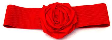 MumptyStyle Annah Stretton rose belt