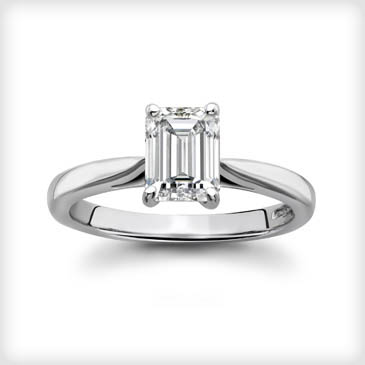 MumptyStyle Emerald Cut Diamond