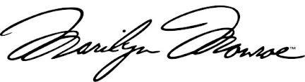 MumptyStyle Marilyn signature