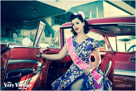 MumptyStyle Miss Pinup NZ 2014