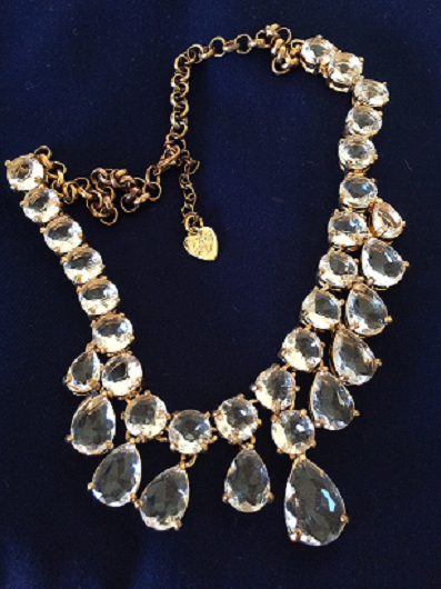 MumptyStyle Betsey Johnson necklace