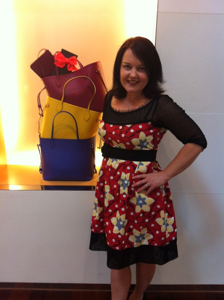MumptyStyle Annah Stretton at Louis Vuitton