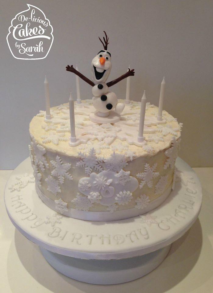 MumptyStyle Olaf Cake