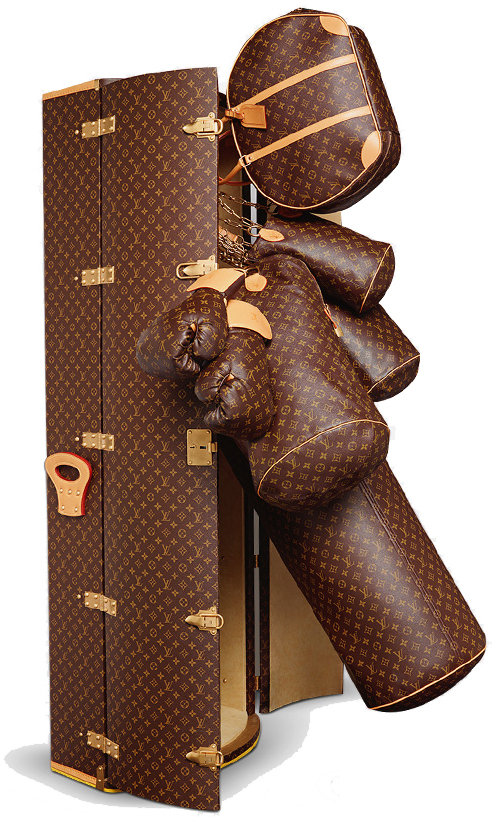 MumtpyStyle LV Lagerfield Punching Bag