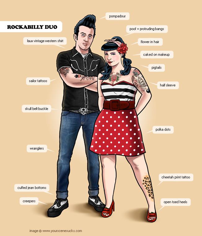 MumptyStyle Rockabilly