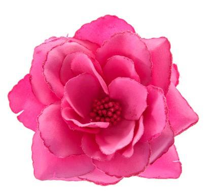MumptyStyle Hot Pink Hair Flower