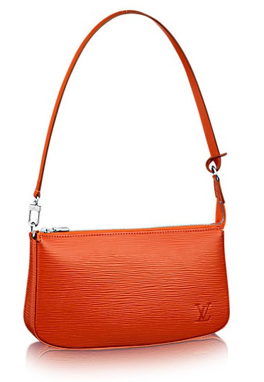 MumptyStyle LV Pochette Epi orange
