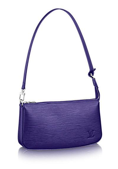 MumptyStyle LV Pochette epi purple