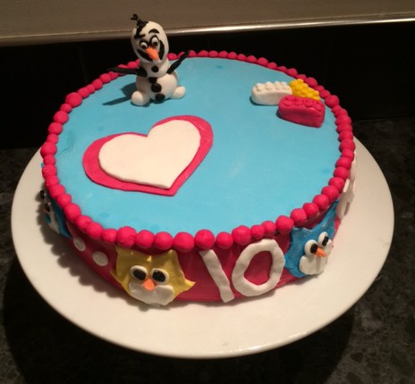 MumptyStyle Birthday Cake