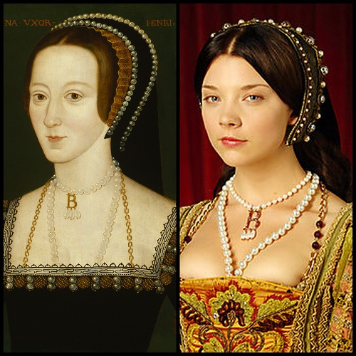 MumptyStyle Anne Boleyn necklace