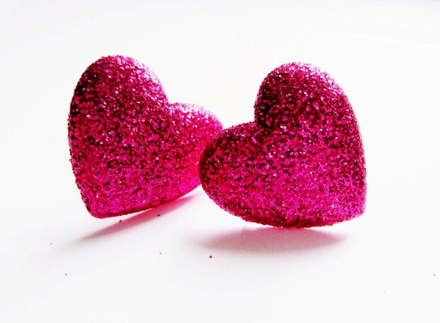 MumptyStyle Glitter Hearts