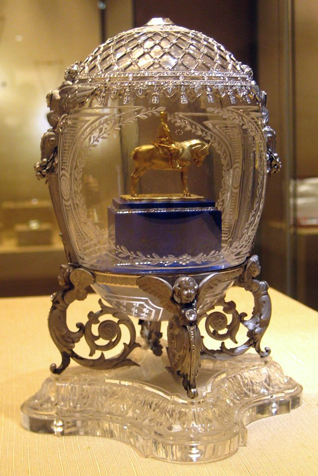 MumptyStyle Faberge Equestrian egg