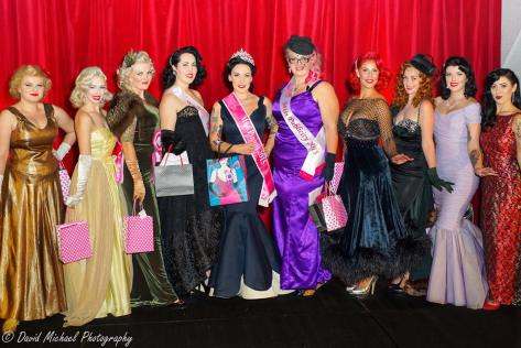 Miss Pinup NZ 2015 finalists