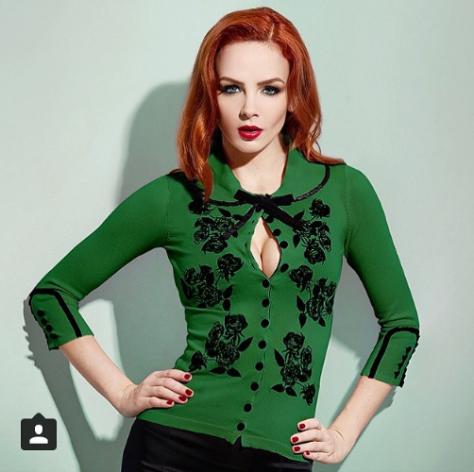 Dita Cardy Green