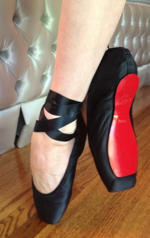 Dita Louboutin ballet