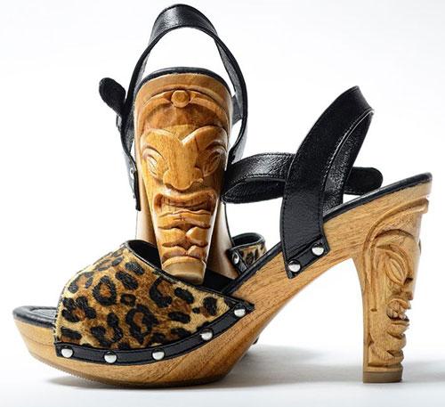 Tiki shoe